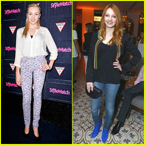 Peyton List &#038; Jacqueline Emerson: People StyleWatch Denim Party Pair