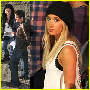 Selena Gomez: 'Getaway' Visit From Ashley Tisdale