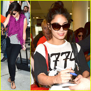 Vanessa Hudgens &#038; Selena Gomez: Toronto Twosome