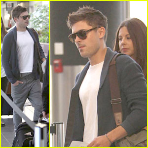 Zac Efron Takes Off for TIFF