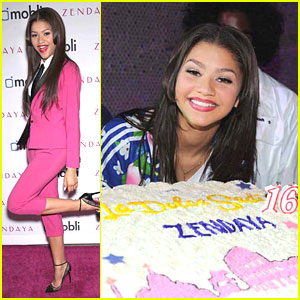 Zendaya: Sweet 16 Party Pics!