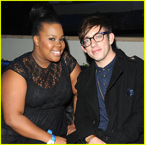 Amber Riley & Kevin McHale: Samsung Galaxy Note Launch Party Pair