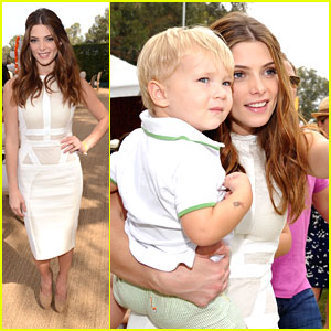 Ashley Greene: Polo Classic in Pacific Palisades