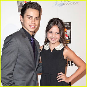 Bailee Madison & Jake T. Austin: Hero Dog Awards 2012
