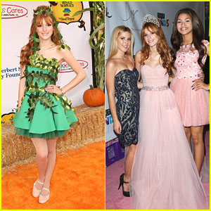 Bella Thorne: Quinceanera Celebration with Zendaya &#038; Caroline Sunshine!