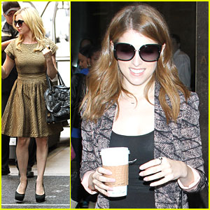 Anna Kendrick & Brittany Snow: 'Anderson' Show Stop