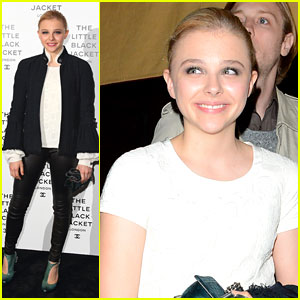 Chloe Moretz: Chanel Little Black Jacket Event