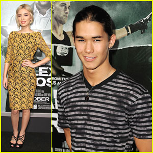 Christian Serratos: 'Alex Cross' Premiere with Booboo Stewart