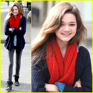 Ciara Bravo: Grouse Mountain Girl