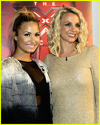 Are Demi Lovato & Britney Spears Teaming Up for a Tune?