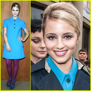 Dianna Agron: Miu Miu Show at Paris Fashion Week