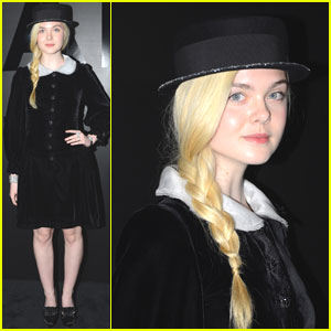Elle Fanning: Chanel Celebration Braided Beauty!