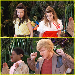 Erin Sanders & Eden Sher Guest Star on 'Pair of Kings'