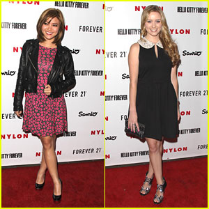Greer Grammer &#038; Jessica Lu: Hello Kitty Launch Cuties