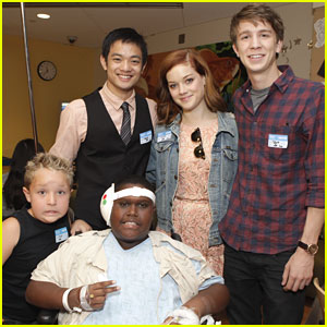 Jane Levy & Thomas Mann: 'Fun Size' Screening at Children's Hospital LA