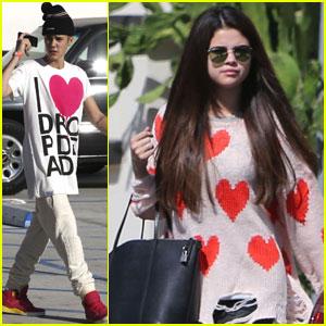 Justin Bieber & Selena Gomez: Trampoline Park Date!