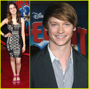 Laura Marano & Calum Worthy: 'Wreck-It Ralph' Premiere Pair