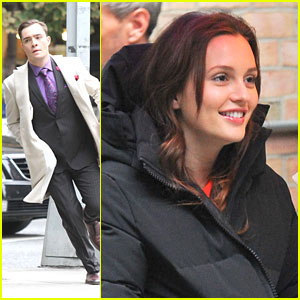 Leighton Meester & Ed Westwick: Will Chuck & Blair End Up Together on 'Gossip Girl'?