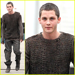Logan Lerman: 'Bluff's with Josh Hutcherson?
