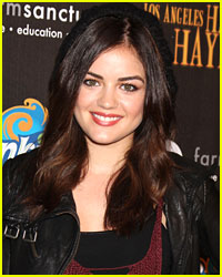 Lucy Hale Tweets About Hurricane Sandy