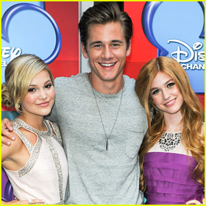 Olivia Holt: 'Girl vs. Monster' Premiere with Luke Benward!