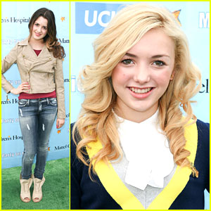 Peyton List & Laura Marano: Party at the Pier with Mattel