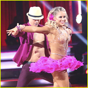 Shawn Johnson Amp Derek Hough Mambo On Dancing With The