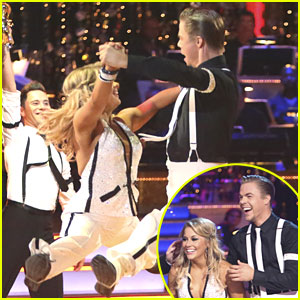 Shawn Johnson &#038; Derek Hough - Quickstep on Dancing With The Stars: All-Stars