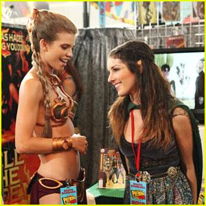 AnnaLynne McCord & Shenae Grimes: 'Phenomi-Con' on '90210'