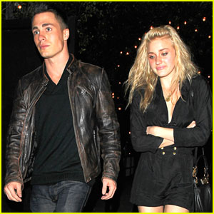 AJ Michalka &#038; Colton Haynes: Bagatelle Dinner Duo