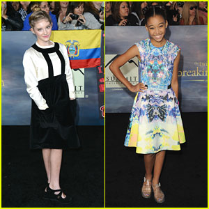 Amandla Stenberg: 'The Twilight Saga: Breaking Dawn Part 2' Premiere with Willow Shields