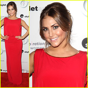 Cassie Scerbo - Inspiration Women Awards 2012