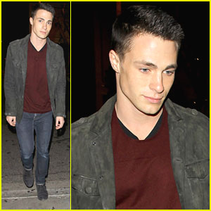 Colton Haynes: Dinner at Bagatelle