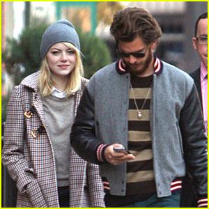 Emma Stone & Andrew Garfield: Chelsea Stroll