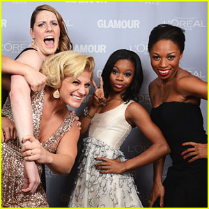 Gabby Douglas &#038; Missy Franklin: Glamour Women of the Year Awards