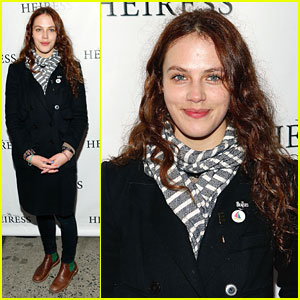 Jessica Brown Findlay: 'The Heiress' Opening on Broadway