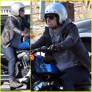 Josh Hutcherson: Motorcycle Man!
