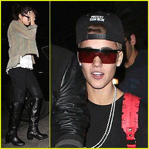 Justin Bieber & Selena Gomez: Benihana Date with Friends!