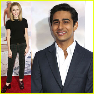 Kiernan Shipka & Suraj Sharma: 'Life of Pi' Screening!
