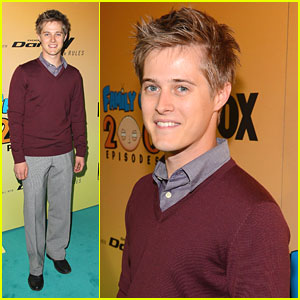 Lucas Grabeel: 'Family Guy' 200 Eposide Celebration!