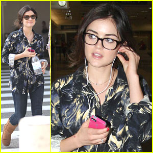 Lucy Hale: Back in Los Angeles