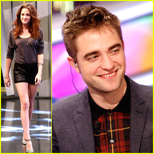Robert Pattinson: 'El Hormiguero' with Kristen Stewart &#038; Taylor Lautner!