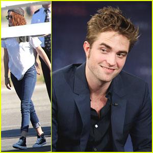 Kristen Stewart & Robert Pattinson: Off To New York!