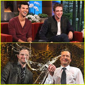 Robert Pattinson & Taylor Lautner: 'Ellen' Show TODAY!