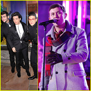 Scotty McCreery &#038; Il Volo: Rockefeller Center Christmas Tree Lighting Ceremony 2012
