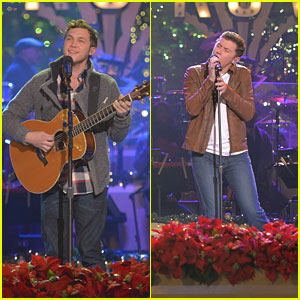 Scotty McCreery & Phillip Phillips: Grove Tree Lighting Ceremony!