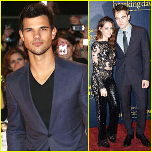 Kristen Stewart: 'Breaking Dawn' UK Premiere with Robert Pattinson & Taylor Lautner