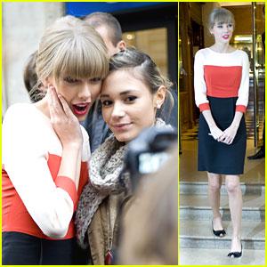 Taylor Swift: 'Red' Promo at Virgin Radio