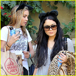 Vanessa Hudgens: Cat-Eared Halloween Cutie!