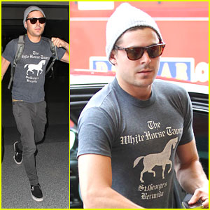 Zac Efron: Goodbye LA Rain